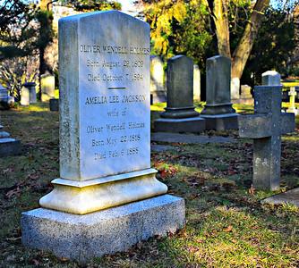 Oliver Wendell Holmes.