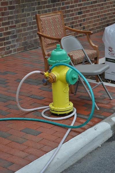 Fire hose garden hose