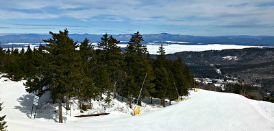 From the top of Panorama, Gunstock (3/28/18)