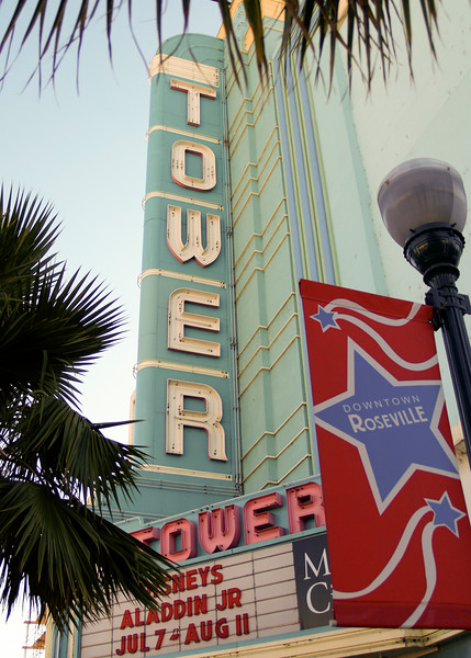 Tower theater Roseville, CA