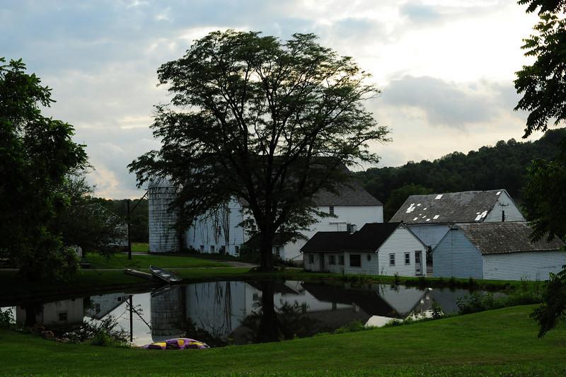 Last farmhouse standing (in a development)