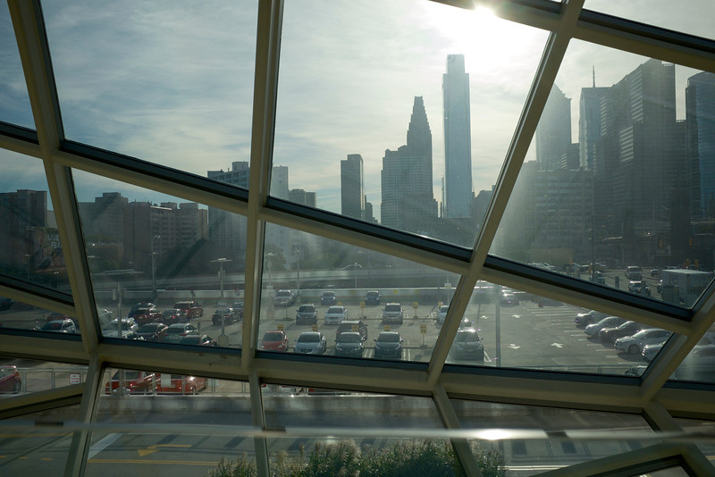 Philly Skyline from 30th St Station (Fuji X100S)