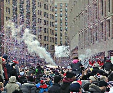Confetti cannons.