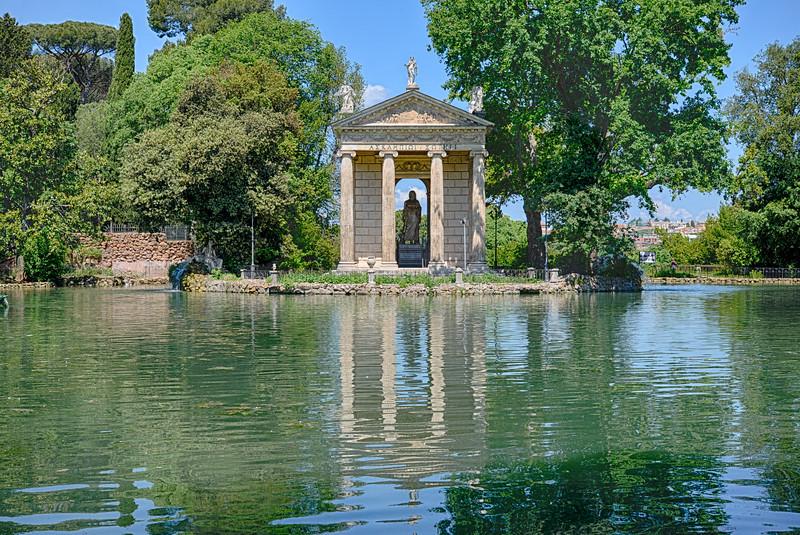 Temple d'Esculape - Rome