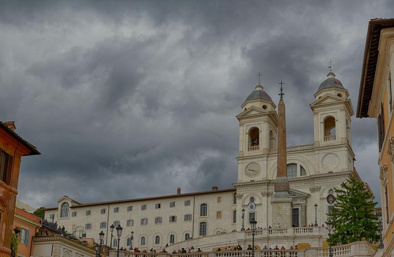 Trinité des Monts - Piazza Di Spagna - Rome