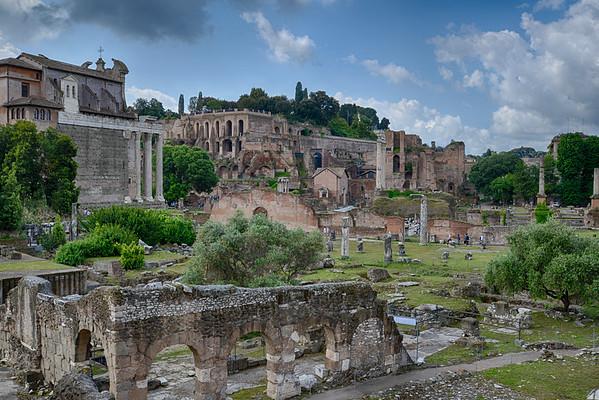 Mont Palatin - Rome