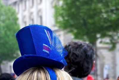 Royal Wedding – smart hat . . .