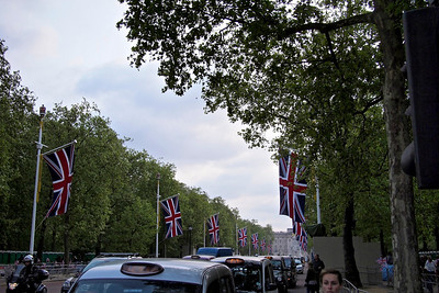 Evening before the Royal Wedding