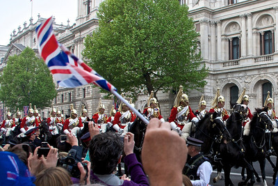 Royal Wedding – Household Cavalry.