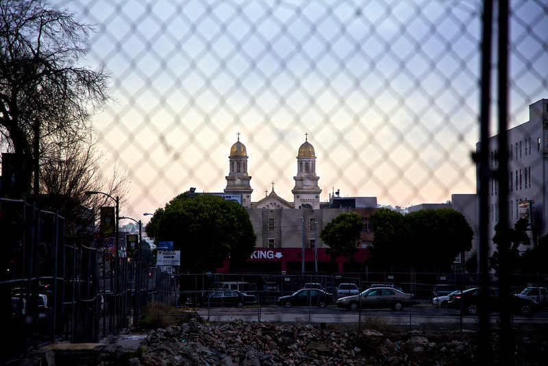 Something king church fence