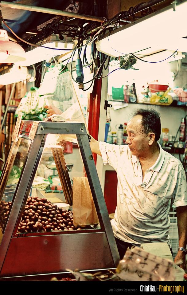Chestnut  Seller... and he looks kinda bored... \:-|