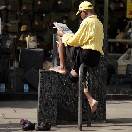 Portobello Rd, London.<br /> Love the shoes