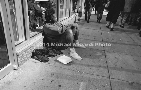 Young man begging in DC img089