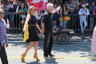 George Gascon, San Francisco District Attorney with his wife.