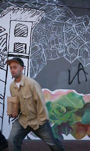 Street Art, Market Street, San Francisco, October 2009