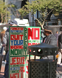 REPENT, Powell & Market, San Francisco, October 2009