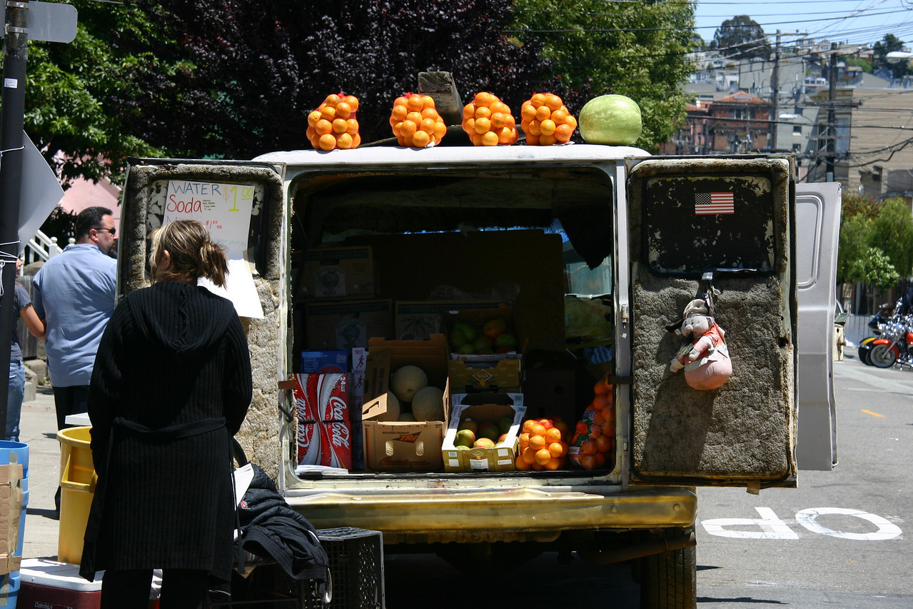 Fresh Fruit, Mission District, San Francisco, May 2006