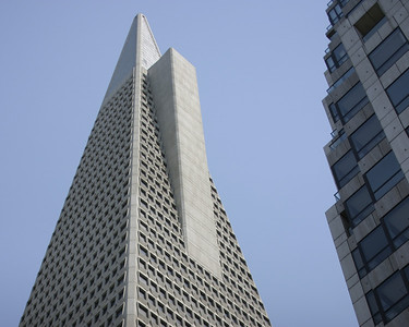 Transamerica Building, San Francisco, July 2008