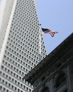 Transamerica, San Francisco, July 2008