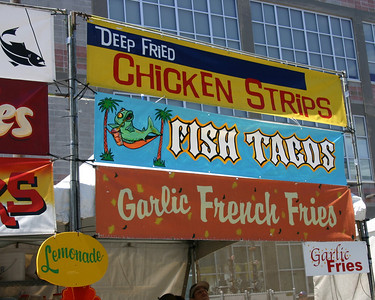 Fish Tacos, Carnivale, San Francisco, May 2006