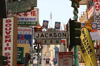 In the heart of Chinatown, San Francisco
