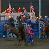 good old fashion wild horse race,