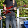 Bass player at Concert in the Plaza