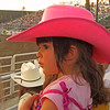 Ms B at her first rodeo