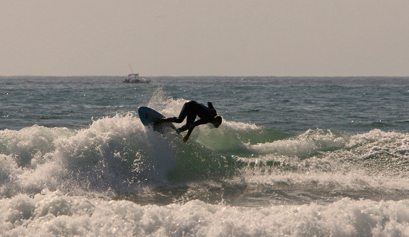 this guy saved this turn and made a long ride out of not much of a wave,