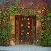 A doorway near Juarez Park.