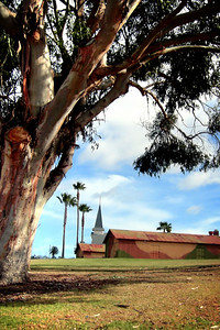 War and Peace - San Pedro   Fort MacArthur Military facility - near Battery Osgood-Farley at Angel's Gate Park.