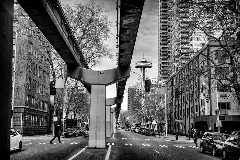 Monorail and Space Needle