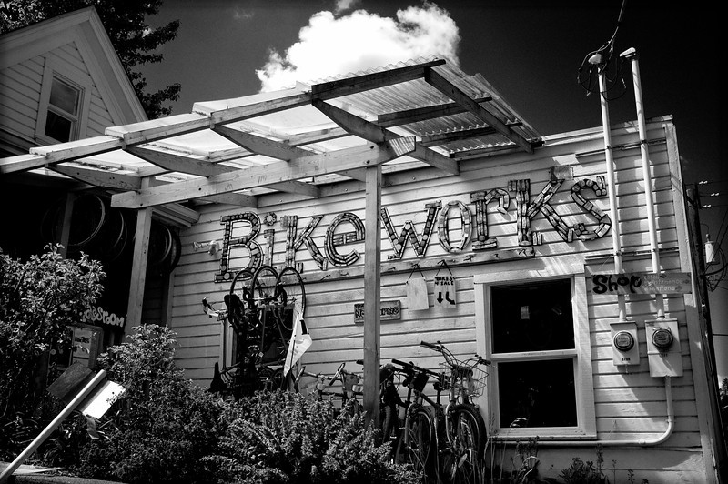 A Seattle institution, Bike Works rehabilitates bikes for donation to those in need, offers bike maintenance classes for teens allowing them to put in hours towards earning their own bike, and is generally about 99 kinds of awesome :)