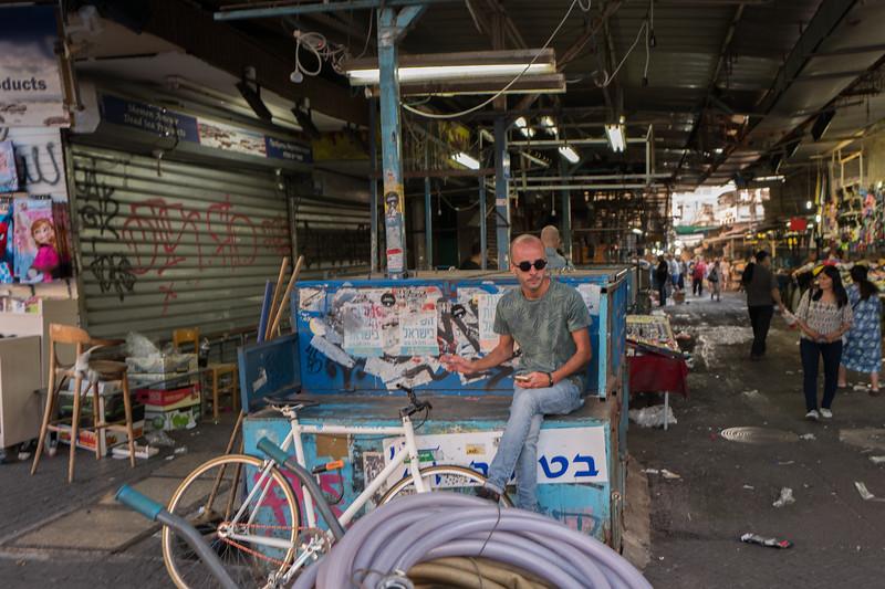 Carmel Market - Tel Aviv - Closing time