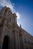 Baroque facade of the Duomo in Ortigia.