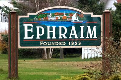 2011 11 26:  Signs, Ephraim misspelled