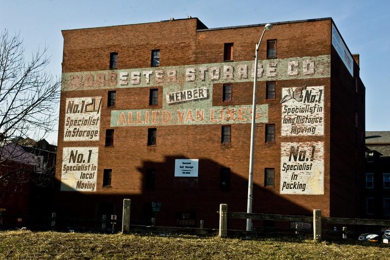 Worcester Storage Co.<br /> Member<br /> Allied Van Lines