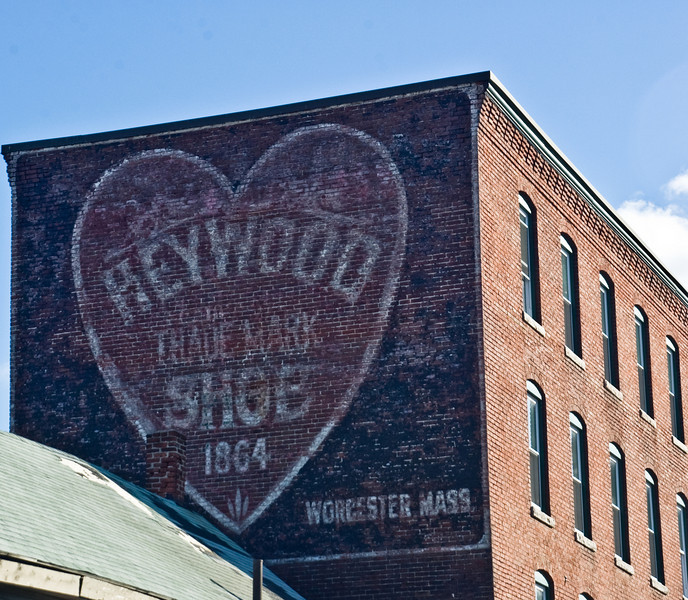 Heywood Trade Mark Shoes 1864