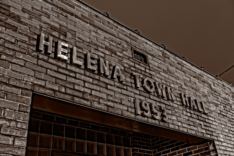 Helena Town Hall 1953