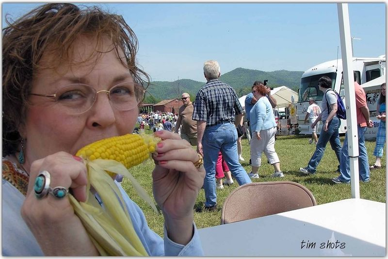 The corn was great