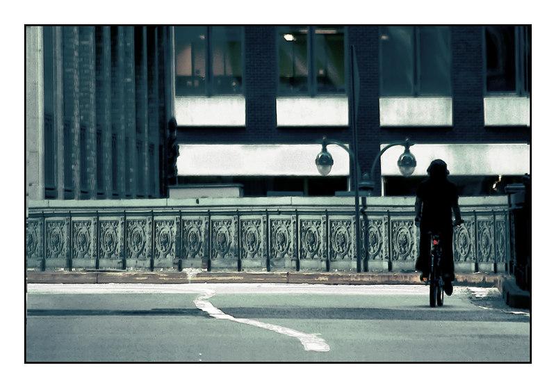 Big Apple Biker - NYC, 2006.