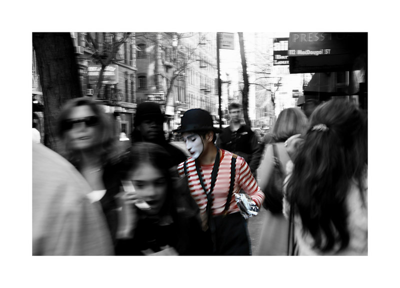 Silence Screams Colour - NYC