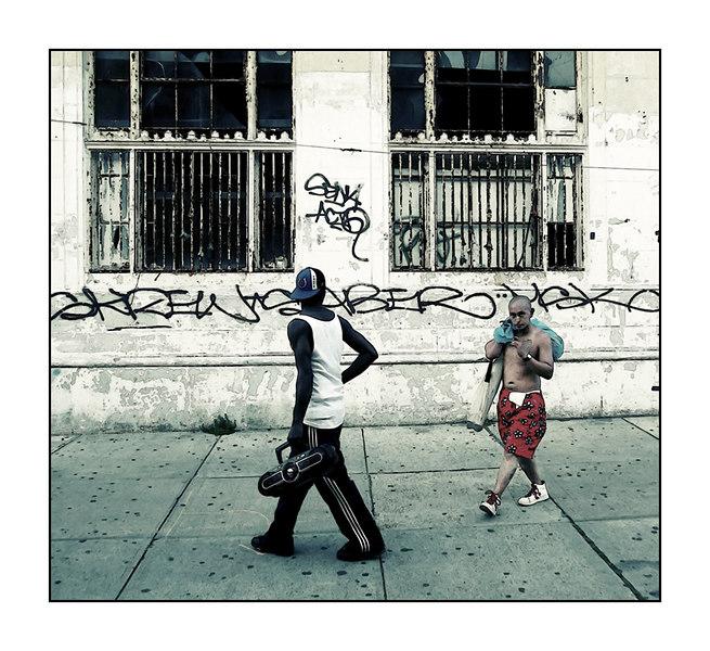 Follow the Boombox, Coney Island, NYC-2006