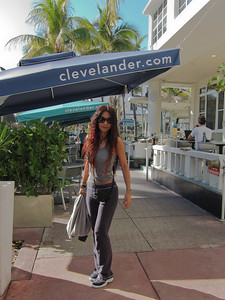 South Beach at the Clevelander Hotel.