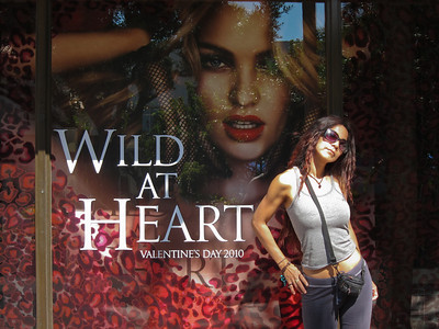 2010 and Wild at Heart on Lincoln Road, South Beach, Florida.