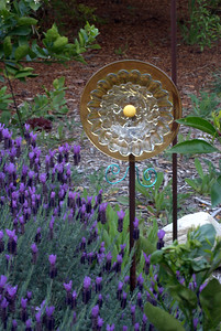 Glass Flower and Lavender