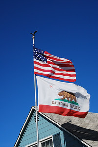 USA & CA Flags