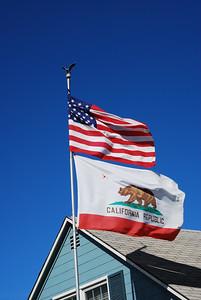 USA & CA Flags