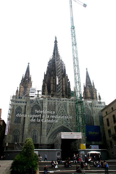 Cathedral of Santa Eulalia, Barcelona, Spain