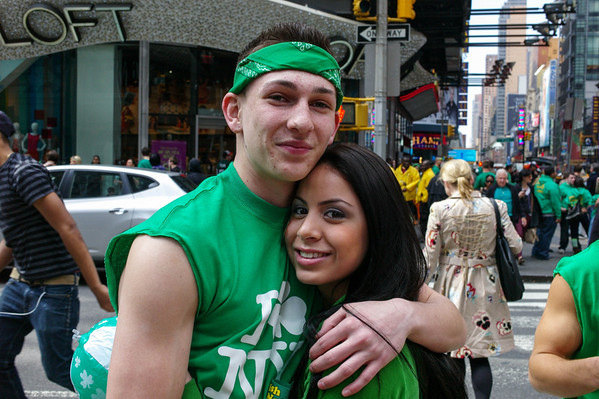 St. Patrick's Day in Manhattan